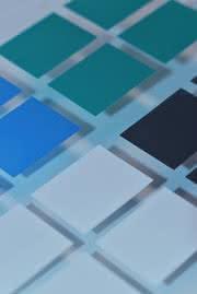 Druckfarben für Glas