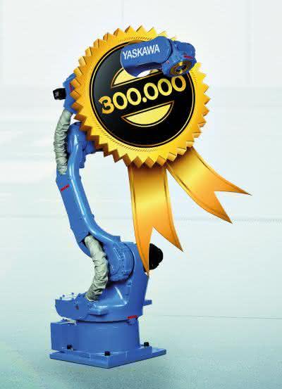 Yaskawa feiert: 300.000ster Motoman-Roboter vom Band gelaufen