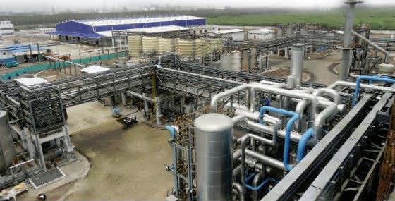 Neuer BASF-Anlagenstandort in Indien.