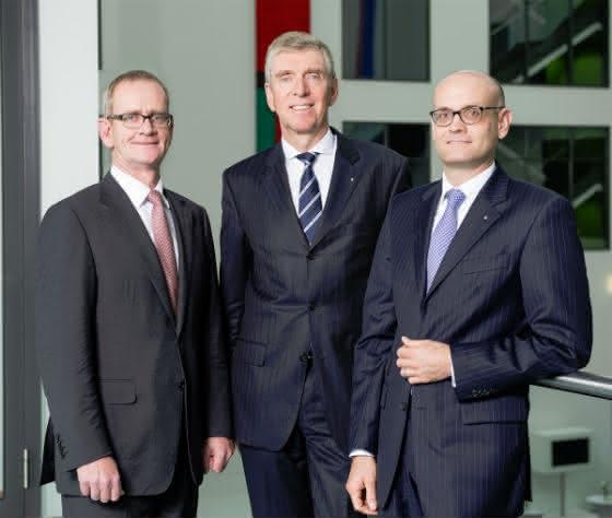 Dr. Christoph Schlünken, Dr. Matthias L. Wolfgruber, Martin Babilas (v.l.)