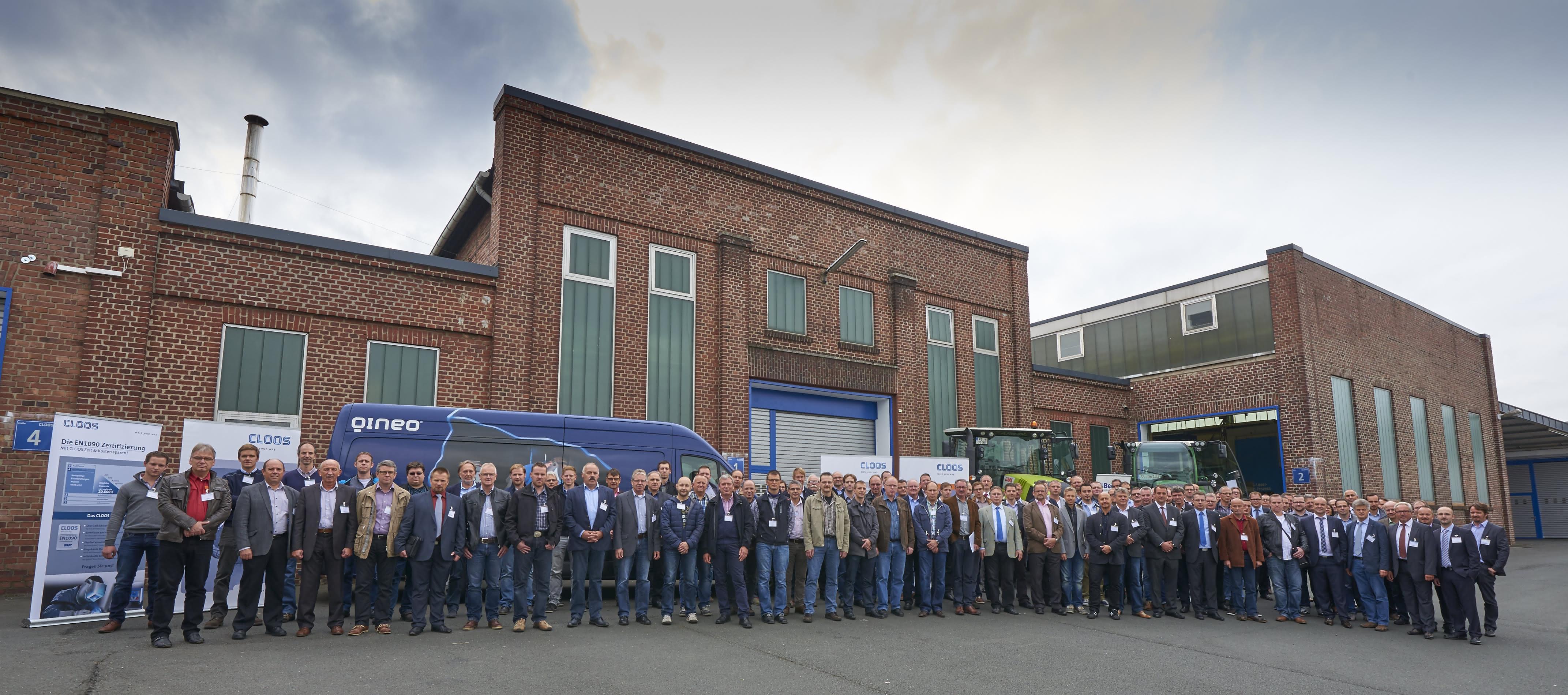 9. Cloos-Fachtagung in Haiger: Schweißen im Landmaschinenbau