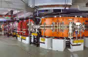 Schwerionen-Speicherring ESR am GSI Helmholtzzentrum für Schwerionenforschung