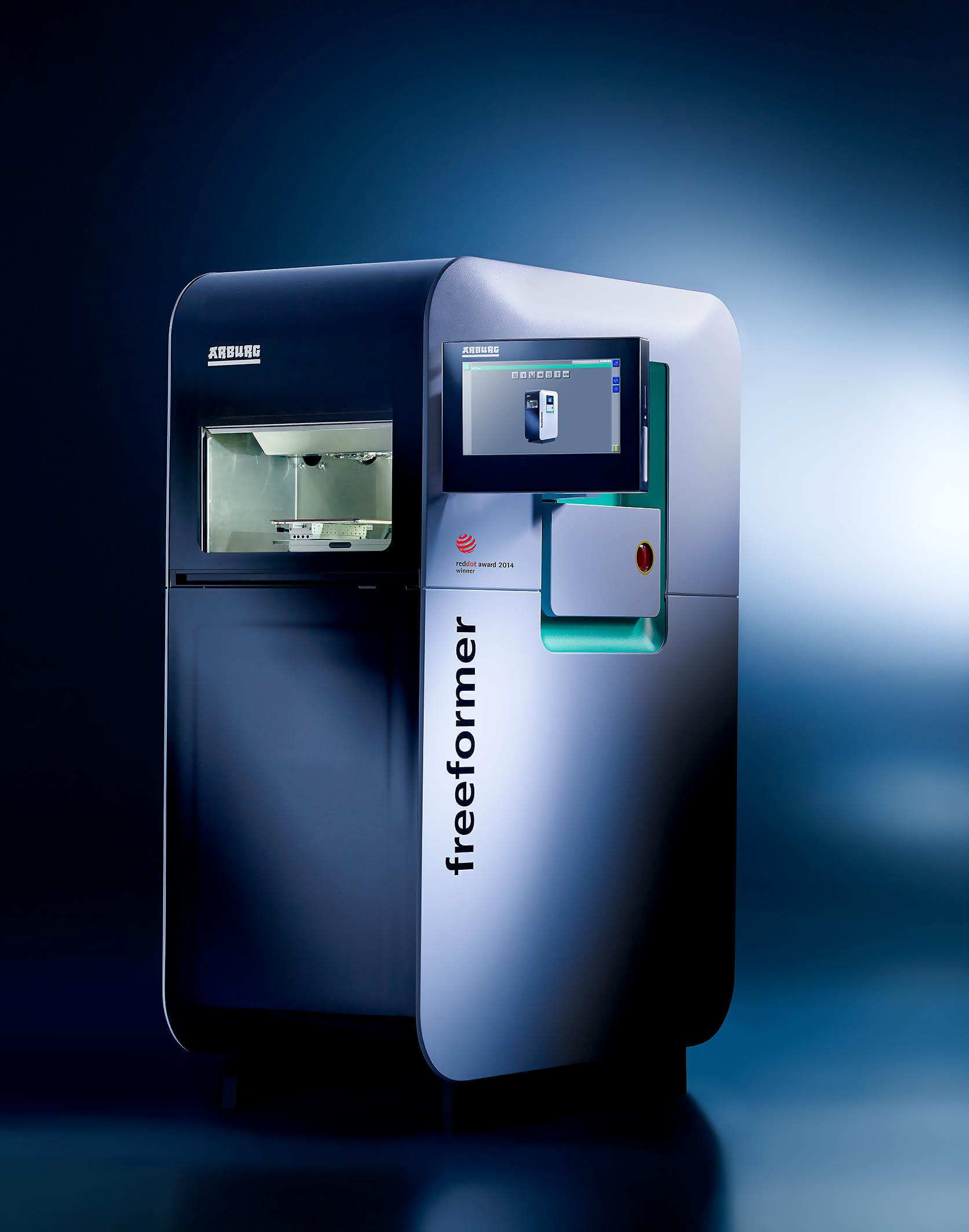 Arburg mit Messe-Partnerschaft: 3D-Druck als Thema der HMI