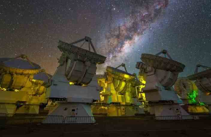 Interstellares Molekül: Astronomen entdecken iso-Propylcyanid