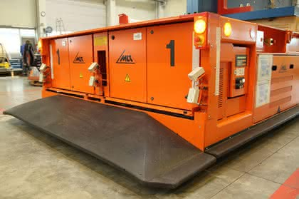 FTS transportiert bis zu 63 Tonnen schwere Lasten: Schwergewichte kommen in Fahrt