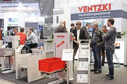 Messestand Ventzki Handling Systems