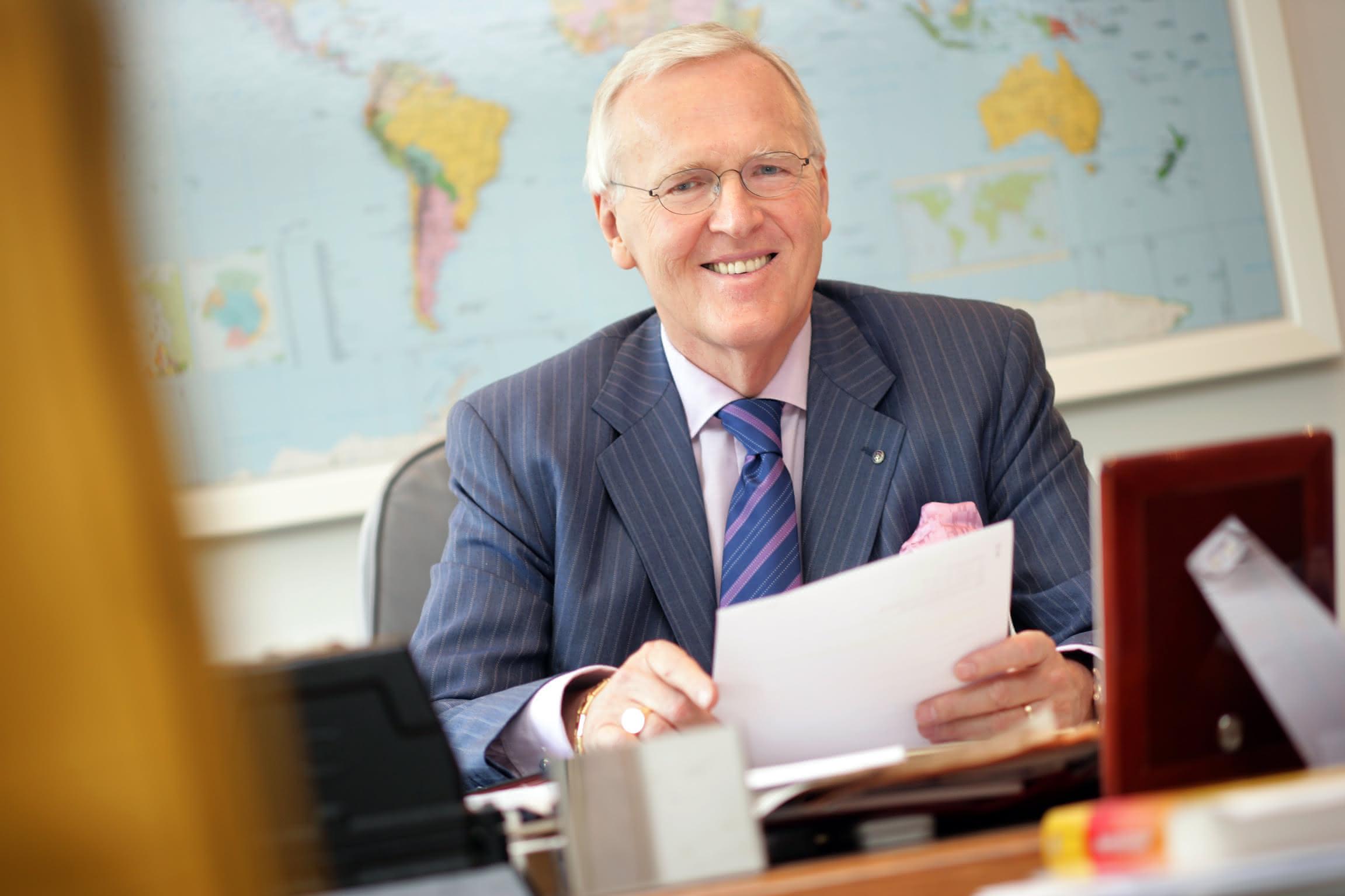 Dietmar Harting feierte den 75ten: Unabhängig und trotzdem global