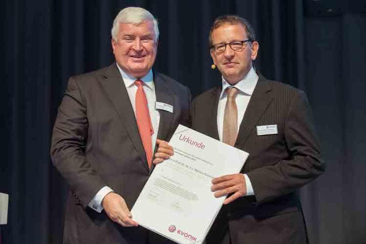 Evonik vergibt Friedrich-Bergius-Lecture an Prof. Dr. Markus Antonietti