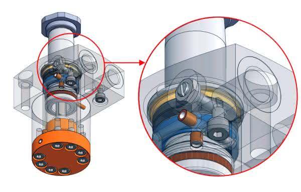 Hydrokomp auf der AMB: Hydraulikflüssigkeit steuern