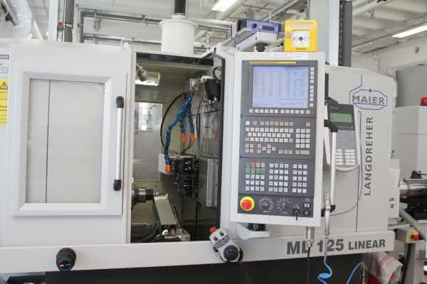 Maier Werkzeugmaschinen: Kleine Teile drehen