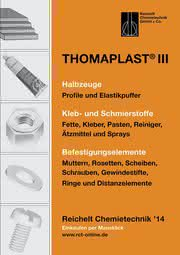 Befestigungs- und Klebetechnik, Halbzeuge: Handbuch THOMAPLAST® III