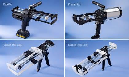 Klebstoffpistolen: Dickflüssige Materialien einfacher dosieren