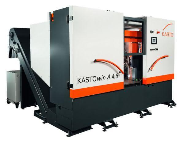 Kasto Maschinenbau: Weltneuheit in der Sägetechnik