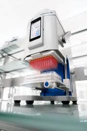 Pipettierautomat: Effizienteres Arbeiten mit 96-Well-Platten