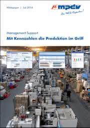 """Effizienter produzieren mit Kennzahlen: Neues Whitepaper """"Management Support"""""""