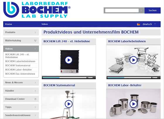 Produktvideos: Bochem nutzt verstärkt neue Medien