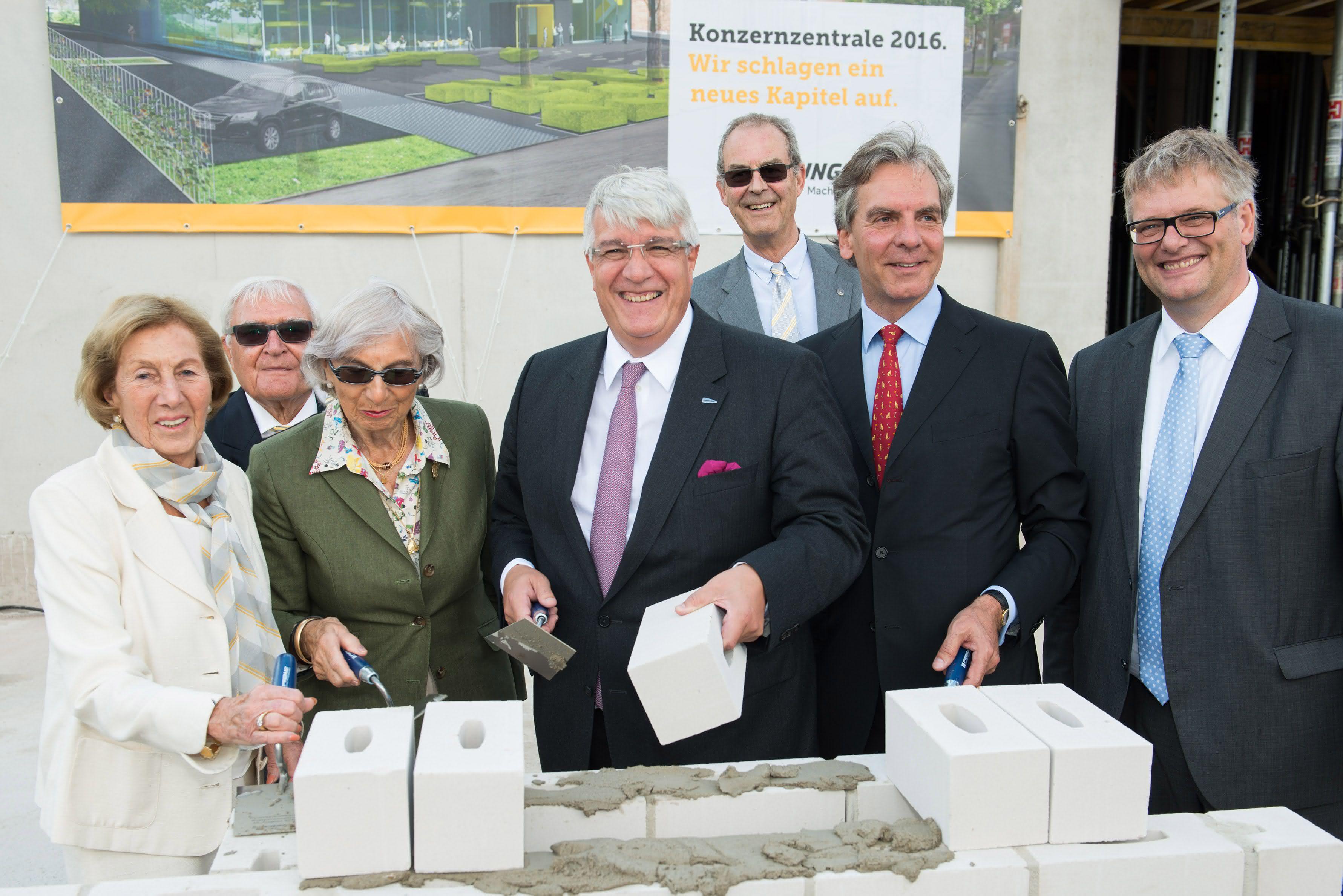 Grundsteinlegung in Hamburg: Neue Unternehmenszentrale für Jungheinrich