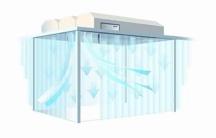Mobile Reinraumzelle: Für Labor, Produktion oder Büro