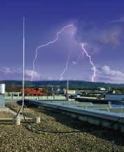 Blitzschutzsystem: Freistehende Fangeinrichtungen