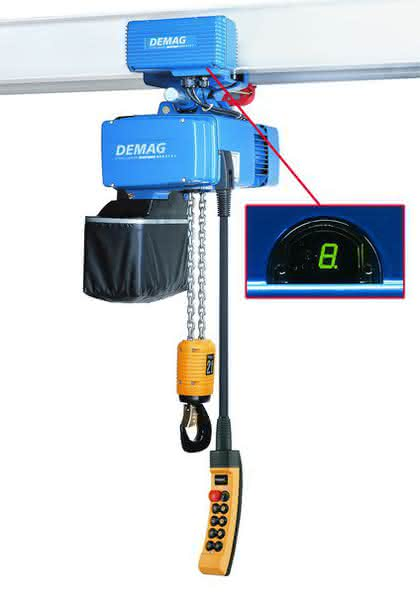 Chain hoist travel drives: For a more convenient travel