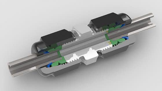 Verschraubung radial demontierbar: Cut Lock Connector