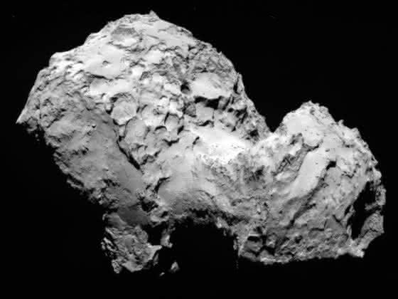 Rosetta in der Umlaufbahn: Raumsonde hat Kometen 67P/Churyumov-Gerasimenko erreicht