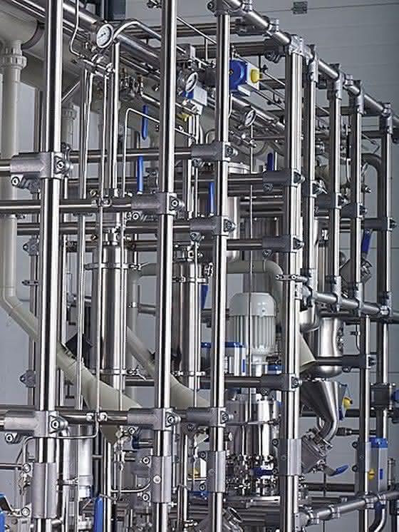 Rohrverbindungstechnik für die chemische Industrie: Edelstahl-Rohrverbinder sind hart im Nehmen