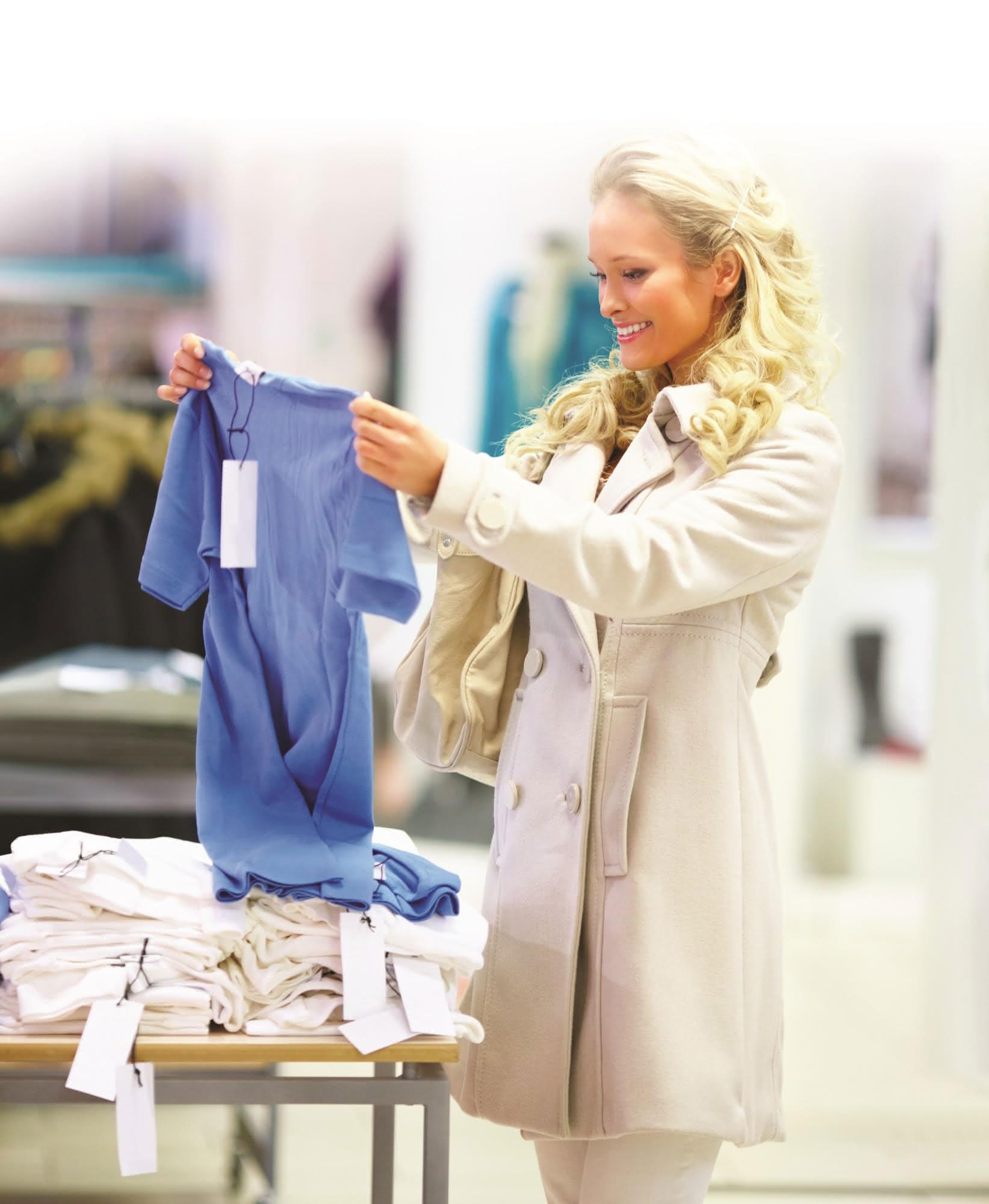 Sato etikettiert Adler: RFID-Infos für die Modemärkte