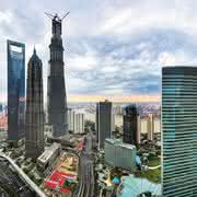 Bosch Rexroth pumpt in China: Fundament für Wolkenkratzer