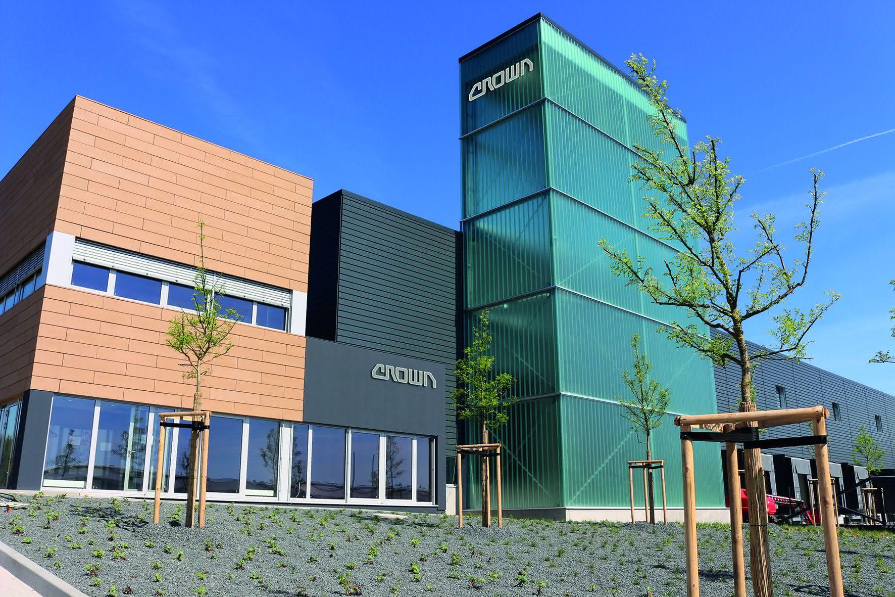 Staplerhersteller baut Kapazitäten aus: Neue Crown-Produktionsanlage in Bayern