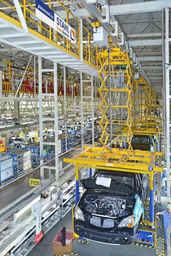 Autoboom in China: Stahl Cranes vor Expansion