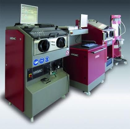Technische Sauberkeit: CTU mit Innenabsaugung