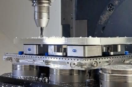 Vakuum-Aufspannsystem: Teile mit Unterdruck spannen