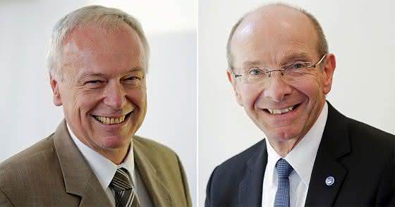 Dr. Zdenek Hruska und Roland Jahn