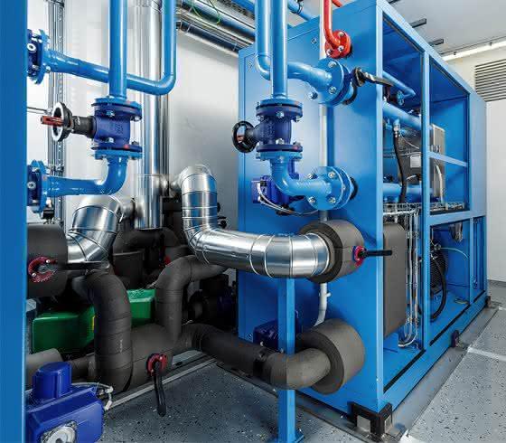 Ammoniak-Kältemaschine