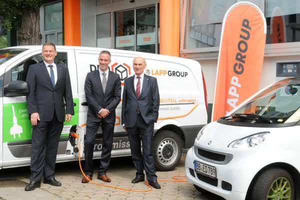 Vito E-Cell von DPD bedient Stuttgarter Ortsteile: Lapp ermöglicht emissionsfreie Zustellung