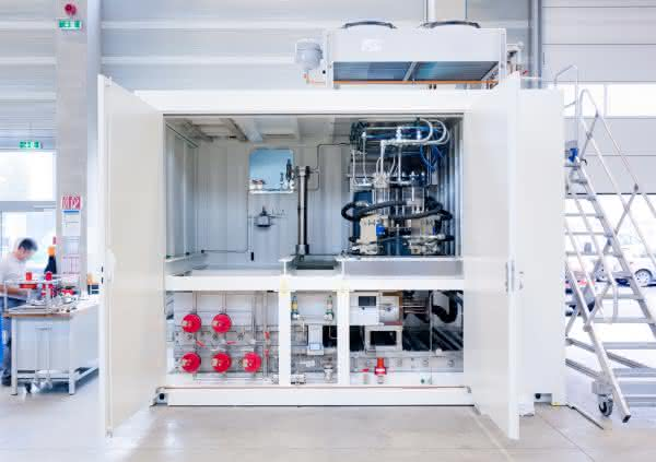 Zunächst 50 Anlagen pro Jahr geplant: Linde startet Kleinserienfertigung für Wasserstofftankstellen