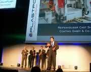 Medallie für die neue Reifenhäuser Glättwerktechnologie