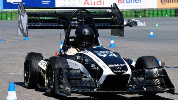 SKF ist Partner der Formula Student Germany: Selbstgebaute Rennwagen auf Profi-Niveau