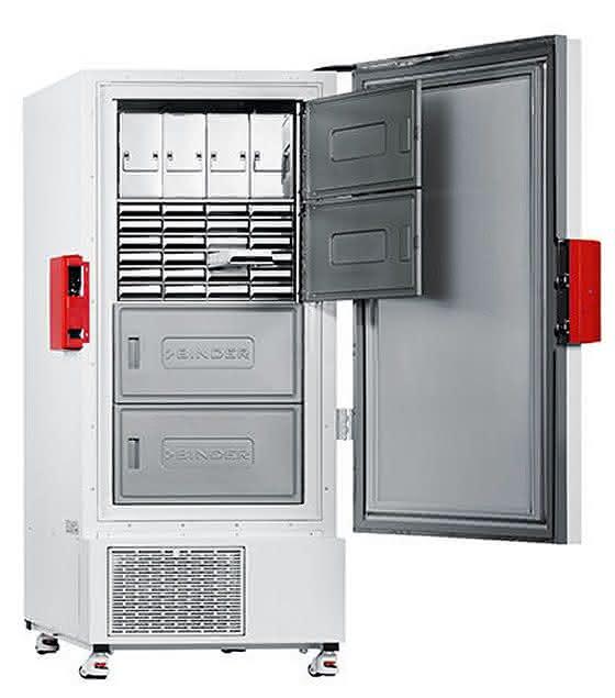 Sicher und energieeffizient: Ultratiefkühlschrank