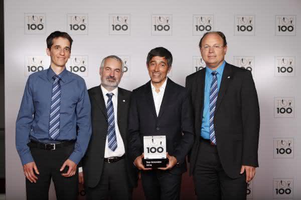 Ehrung durch Ranga Yogeshwar beim Deutschen Mittelstands-Summit: Faulhaber als Top-Innovator ausgezeichnet