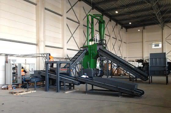 Getecha rüstet NL-Recycler aus:: Das Herz ist die Mühle