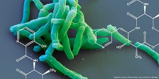 Pharmaforschung: Grundgerüst für neue Tuberkulose-Medikamente