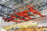 Krananlage für Montage in Alabama:: Terex lässt den Airbus fliegen