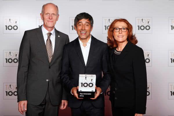 Das Innovationsmanagement überzeugte die Jury: Delo als Innovator des Jahres 2014 gekürt