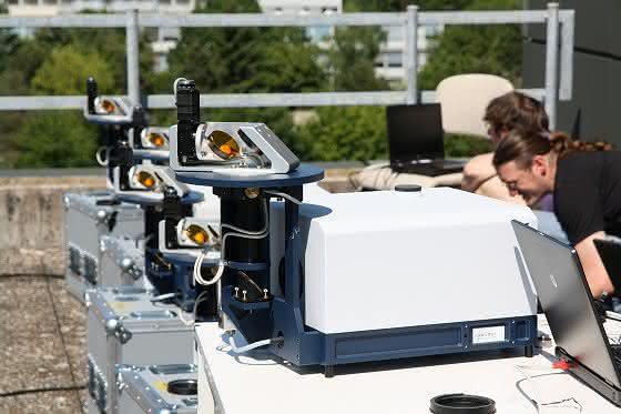 KIT-Forscher messen Emissionen der Hauptstadt: Klimaforscher erfassenTreibhausgasausstoß mit Fernerkundungsinstrumenten