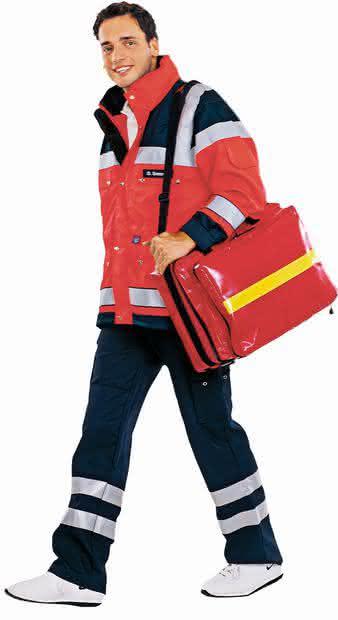 Rettungsdienst-Bekleidung: Mode für Retter und Notärzte