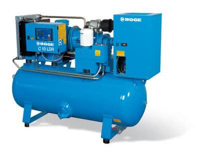 Schraubenkompressoren: Kompakt und extrem leise
