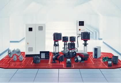 Technologie-Konzept für Pumpenanlagen: Anlagendaten präzise übertragen
