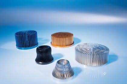 Stiftkühlkörper aus Reinaluminium: Hochleistungs-LEDs kühlen
